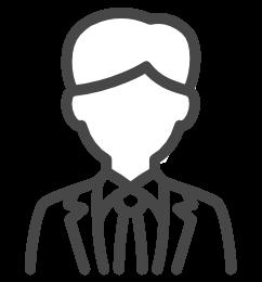 企業担当者のイメージアイコン