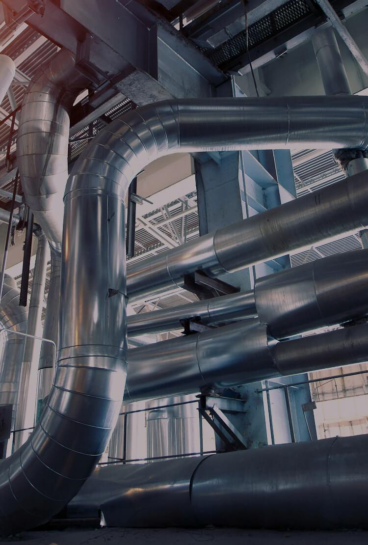中信アスナが水処理、空調システムを手がける工場設備のイメージ