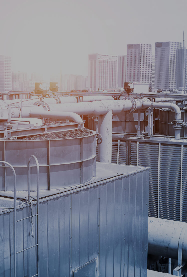 中信アスナが施工する空調システムのイメージ