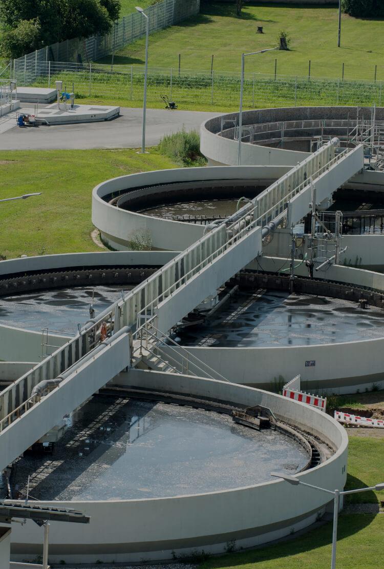 中信アスナが施工する水処理システムのイメージ