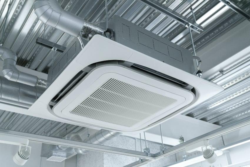 空調、換気、工場設備の事業イメージ
