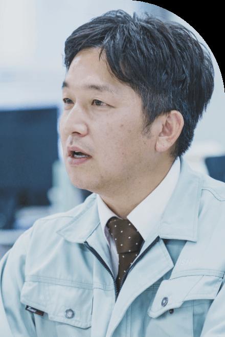 長野県の水と空気を守る中信アスナの社員が、これまでの仕事を振り返り話している様子